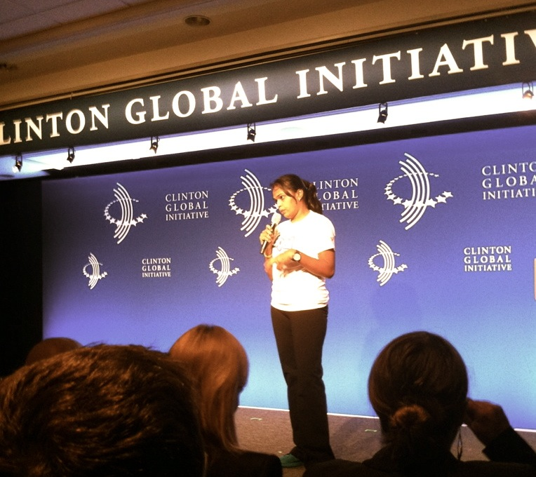 Pallavi Gaikwad speaking at CGI!