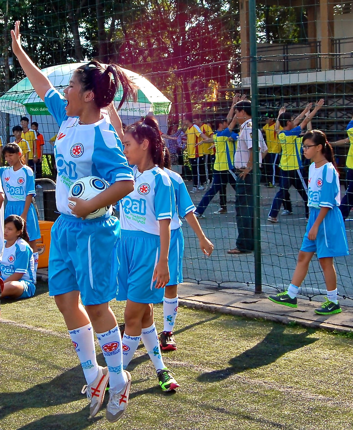 Football For All Vietnam Launches Goal |
