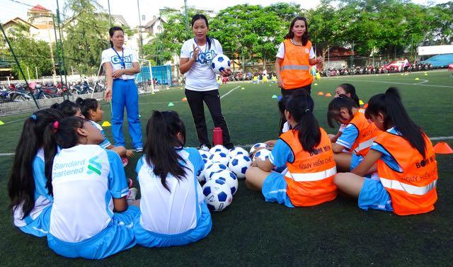 Goal Launch Vietnam female coaches