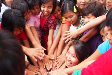 Girl Determined Making Goal a Success in Myanmar